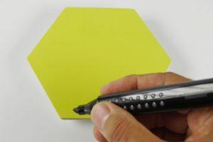 Stattys Notes Hexagon